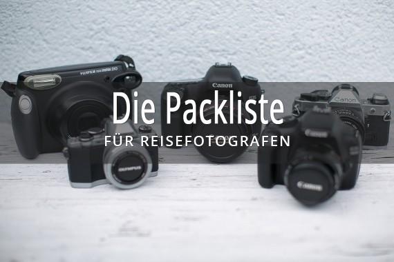 Die Packliste Für Reisefotografen