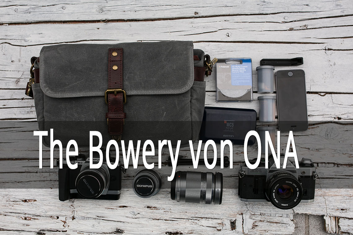 Fototasche, Tasche für Fotografen, ONA The Bowery