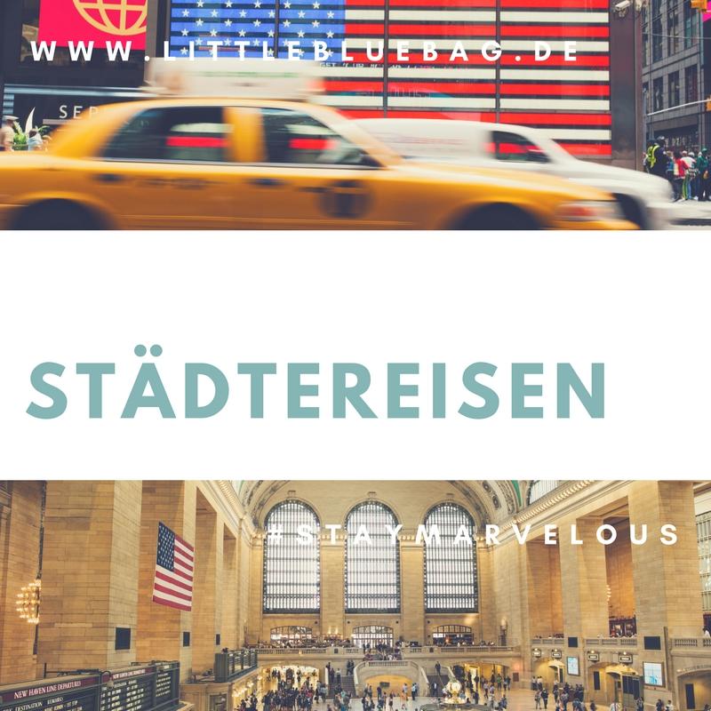 Städtereisen Pinterest