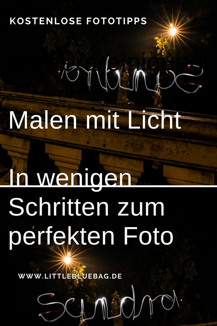 Malen mit Licht - in wenigen Schritten zum perfekten Foto bei Nacht