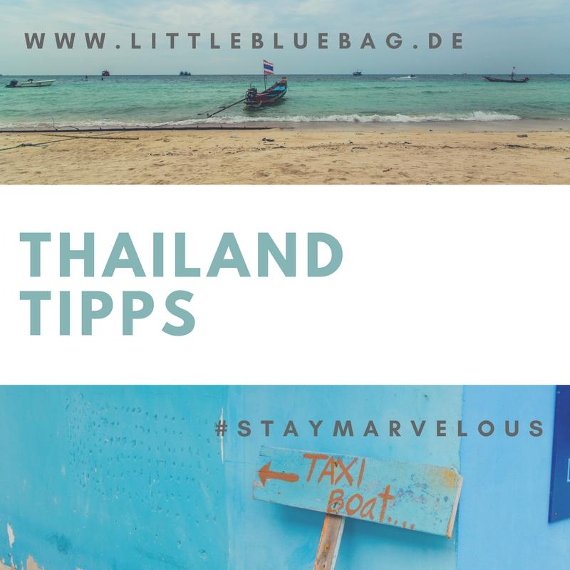 Thailand Tipps Pinterest