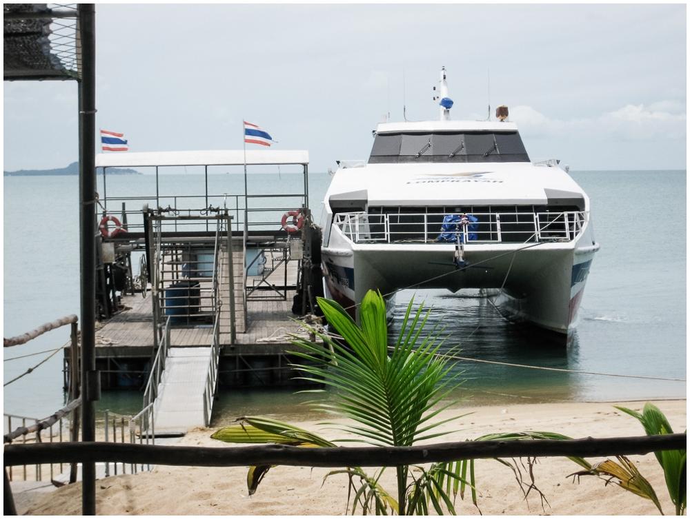 Lomprayah speedboat Thailand