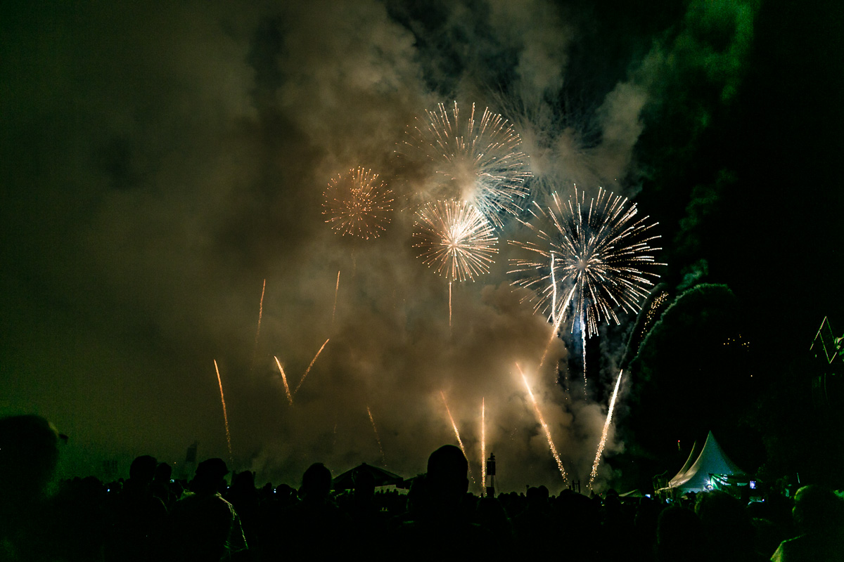 Fototipp Feuerwerk fotografieren Silvester Rauchentwicklung