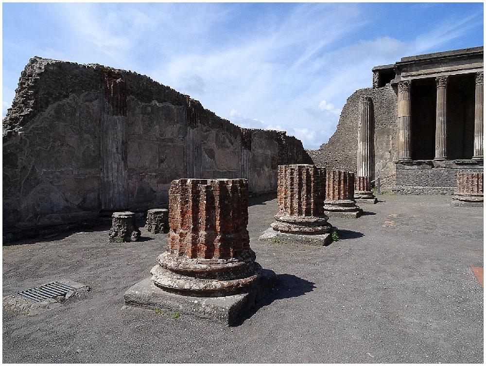 Antike Stadt Pompeji
