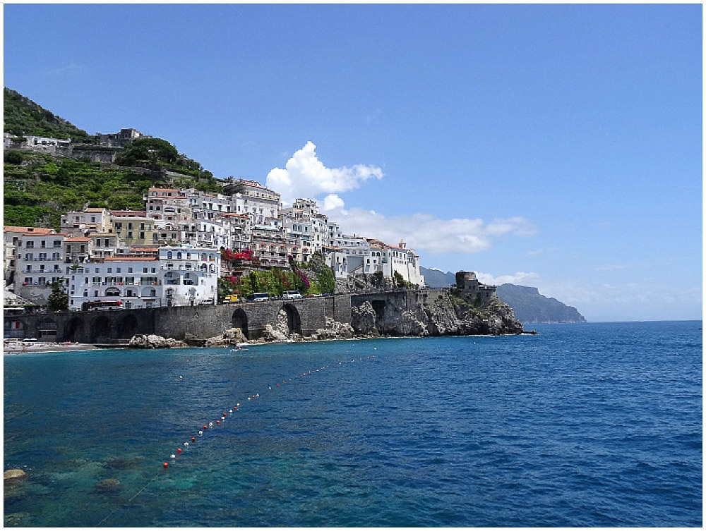 Amalfiküste Italien Neapel