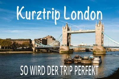 Kurztrip nach London