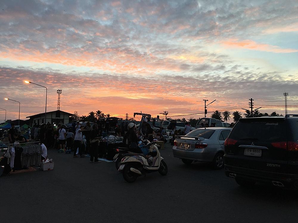 Chumphon Nachtmarkt