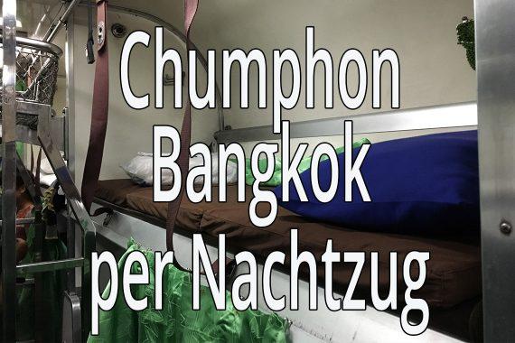 Nachtzug Chumphon Bangkok