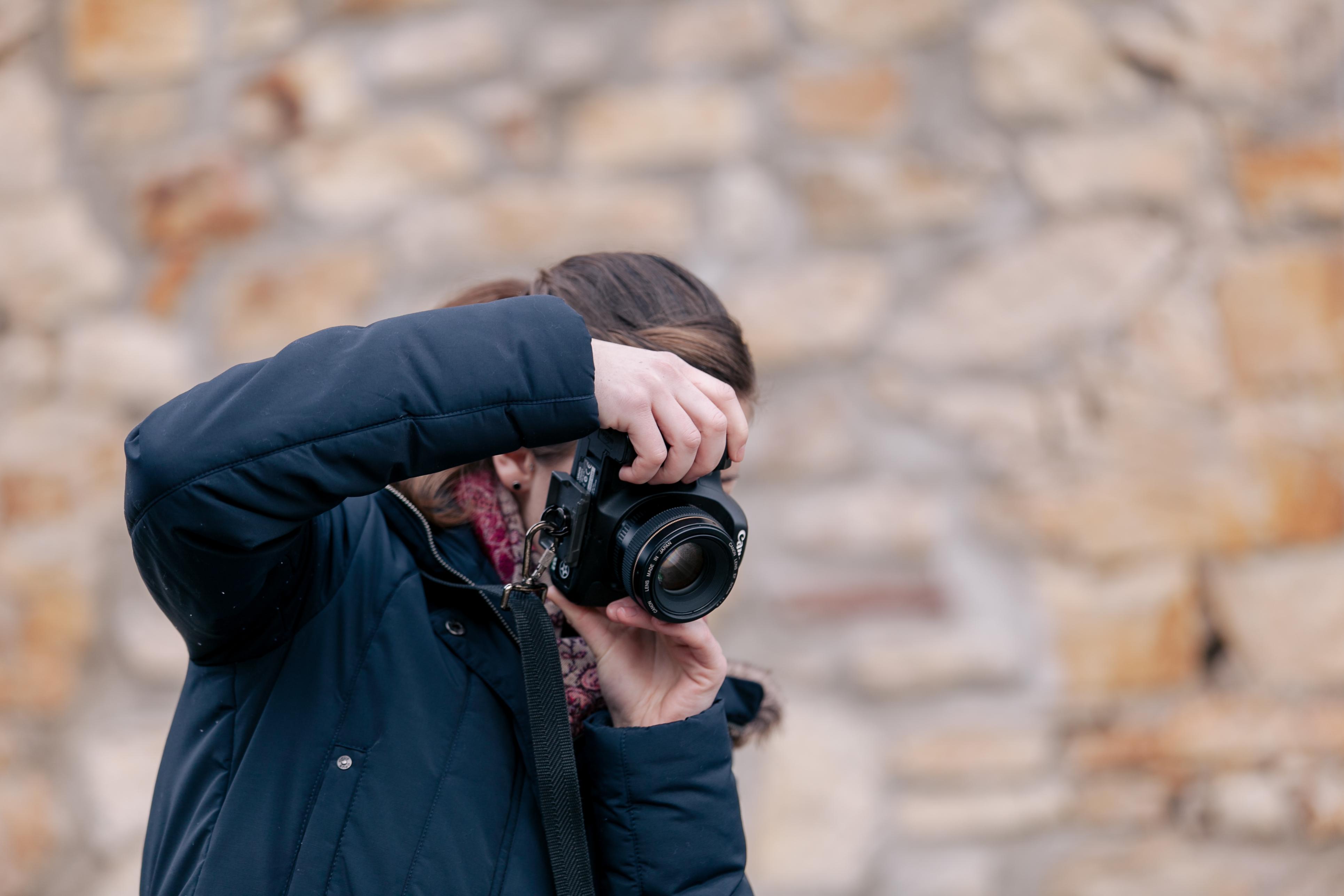 unscharfer Hintergrund beim Fotografieren
