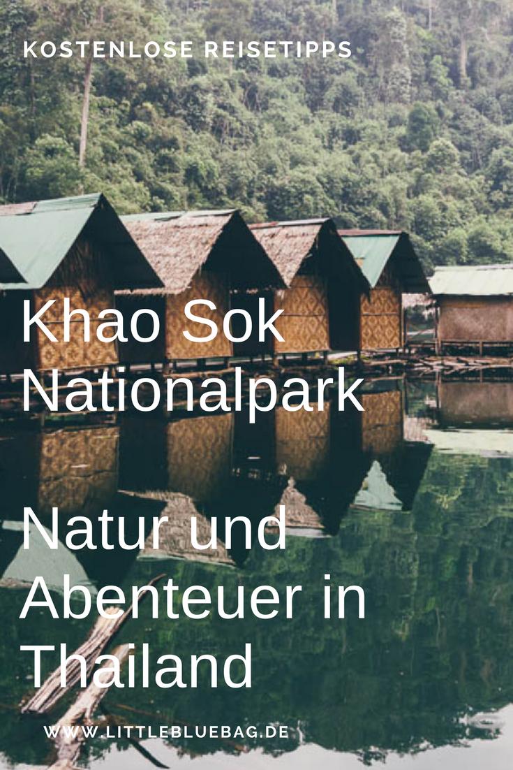 Khao Sok Nationalpark - Natur und Abenteuer in Thailand. Wir zeigen dir unser Dschungelabenteuer und geben dir Tipps für deine Reise. Stay marvelous, Katrin and Sandra.