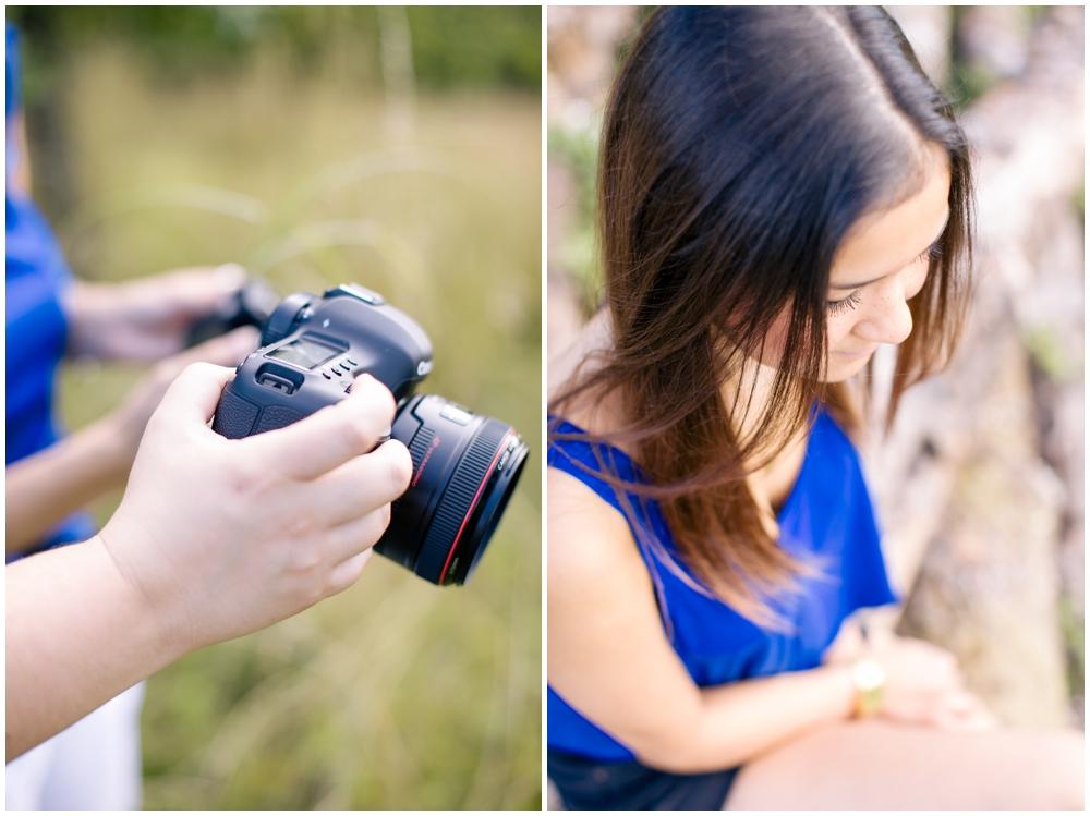 Abstand beim fotografieren