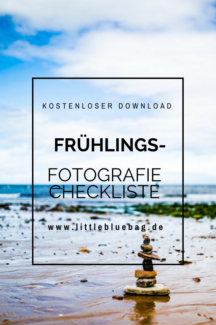 Deine kostenlose Frühlingsmotive Checkliste für deine Fototasche. Kostenloser Download zum sofort ausdrucken und fotografieren!