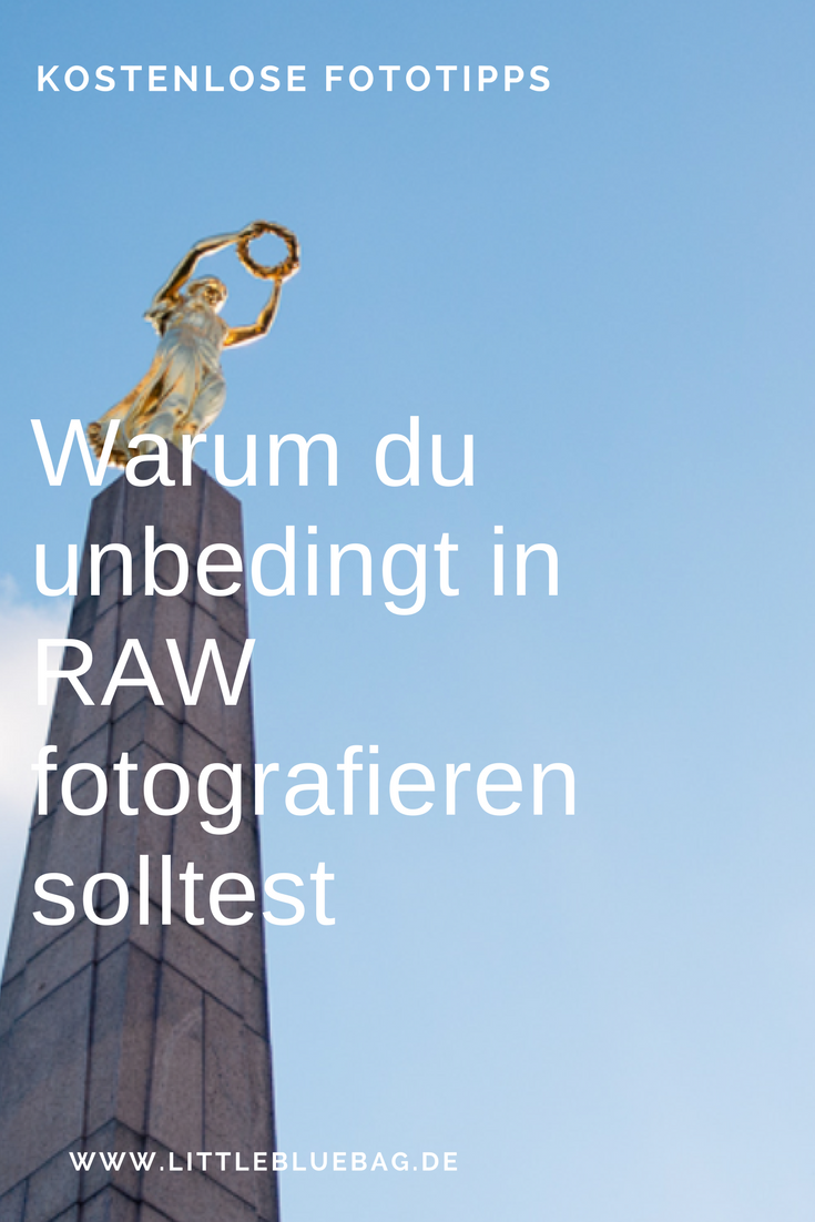Warum du unbedingt in RAW fotografieren solltest. Wir zeigen dir warum und wie!