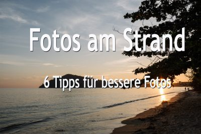 Fotos am Strand