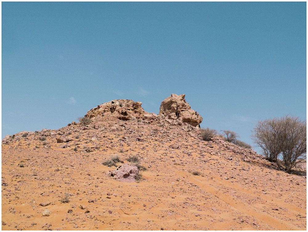 Kamerareinigung Wüste Hitze