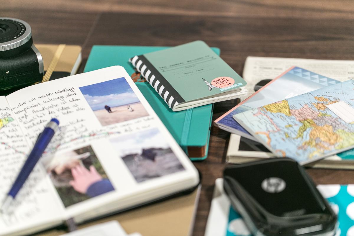 Reisetagebuch DIY