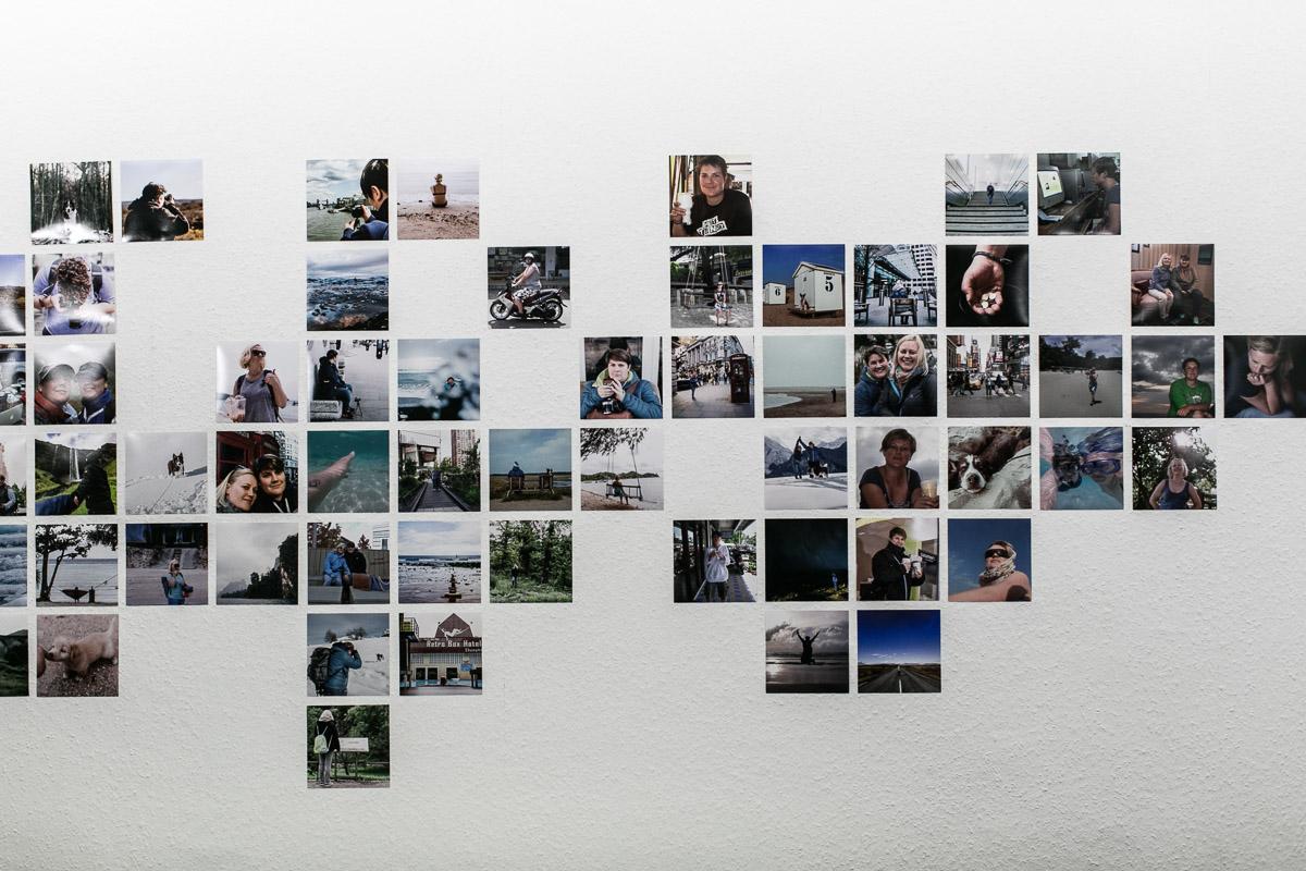 Fotowand Urlaub