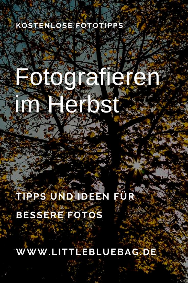 Fotografieren im Herbst Pinterest