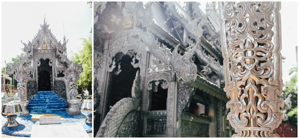 Chiang Mai Thailand Wat Sri Suphan