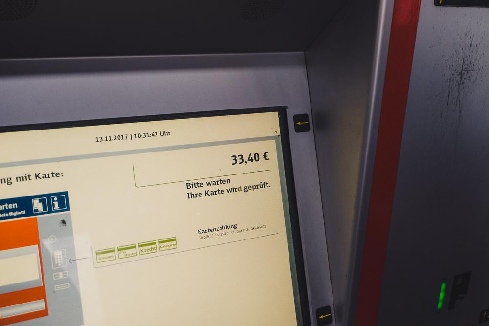 Ostbahnhof ticket kaufen