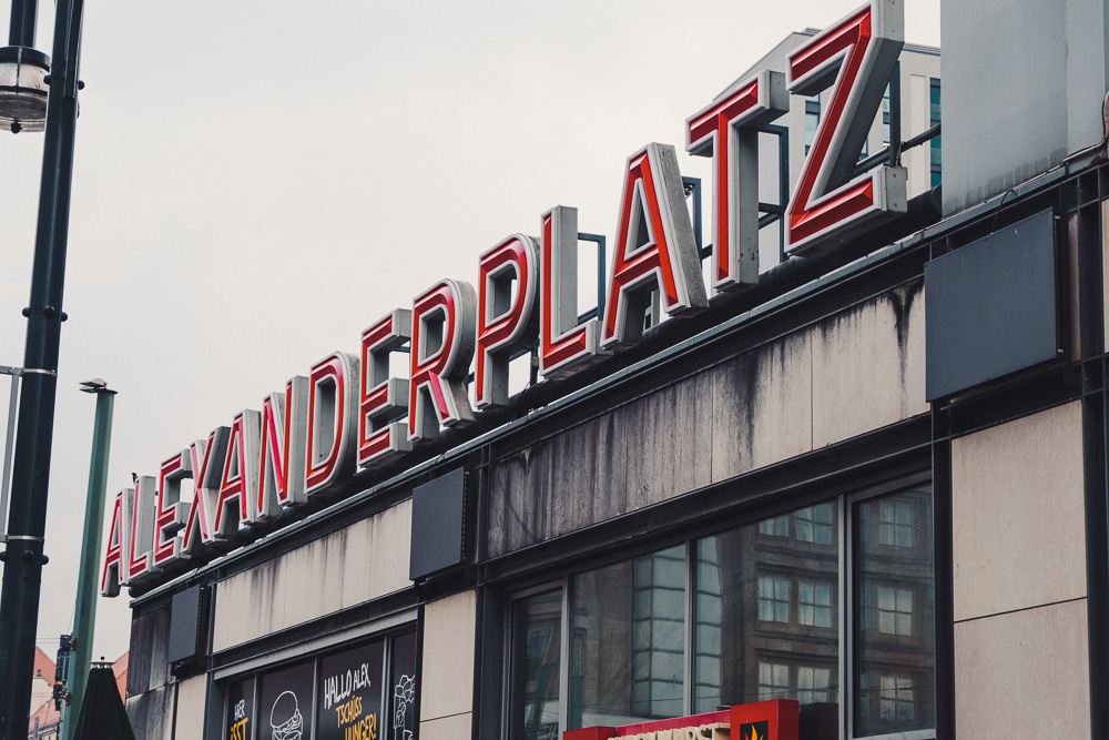 Street Berlin Photography alexanderplatz