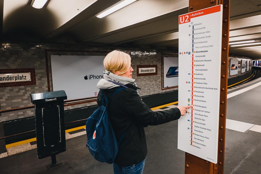 U Bahn Berlin