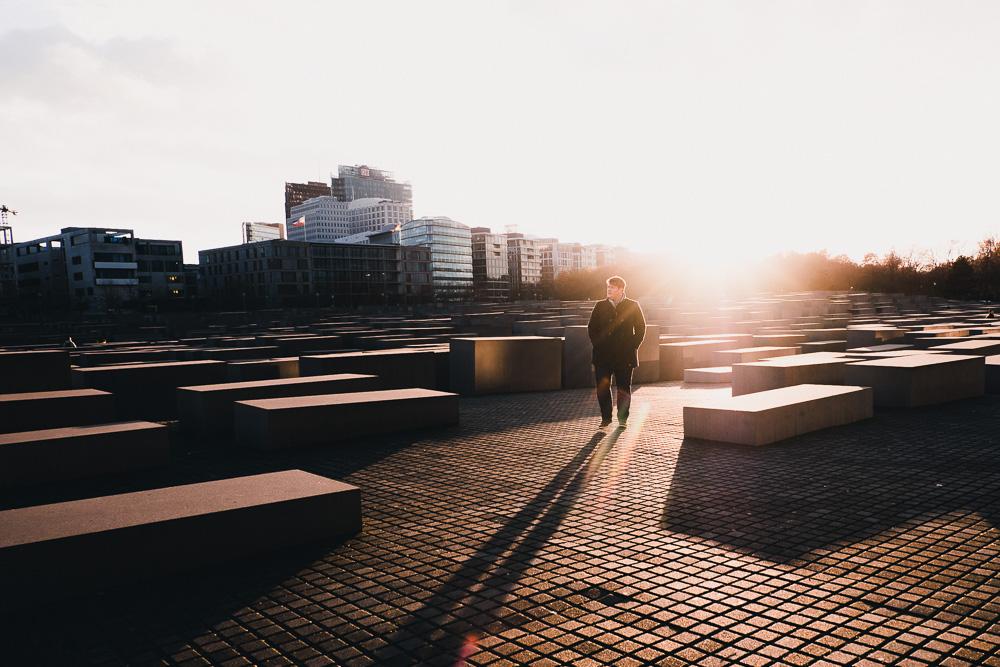 Street Berlin Photography Denkmal ermorderter Juden in Europa