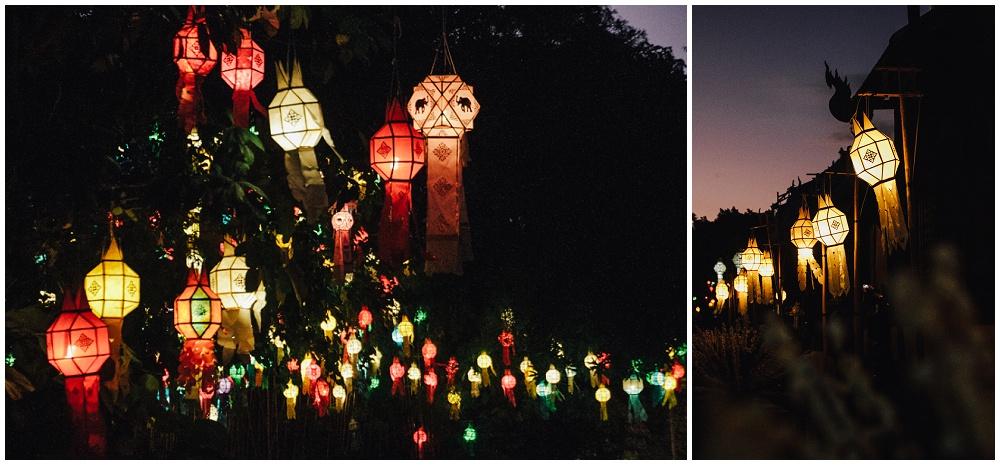Wat Pan Tao Chiang Mai Loy Krathong