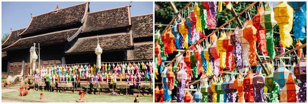 Wat Lok Molee Chiang Mai Loy Krathong