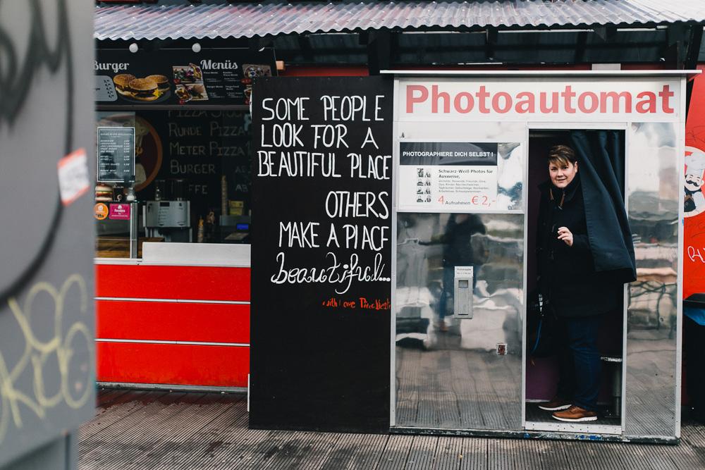 Photoautomat Berlin Warschauer Straße