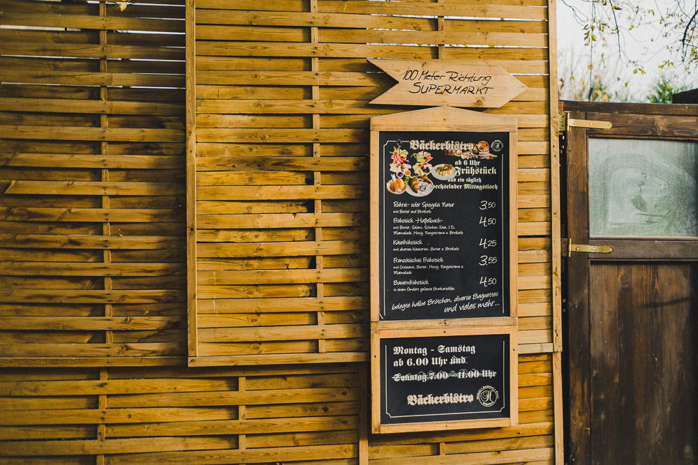 Frühstück Speisekarte Bäckerbistro Ostbahnhof Berlin