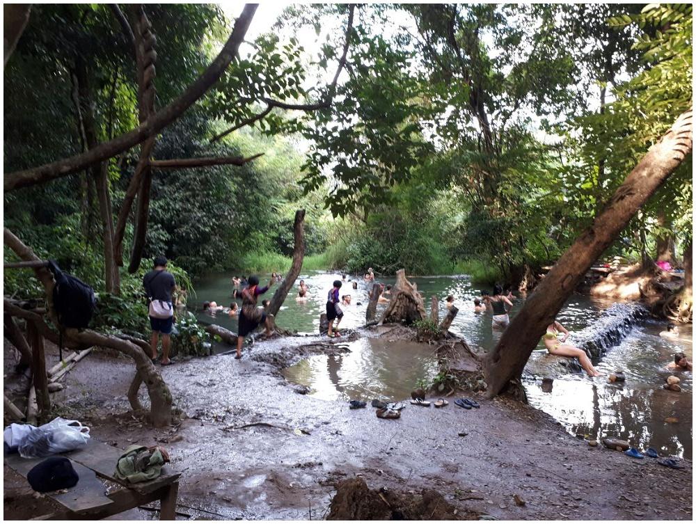 Sai Ngam Hot Spring Pai Thailand