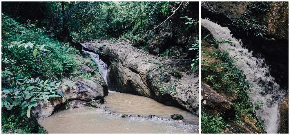 Pam Bok Wasserfall Pai Thailand