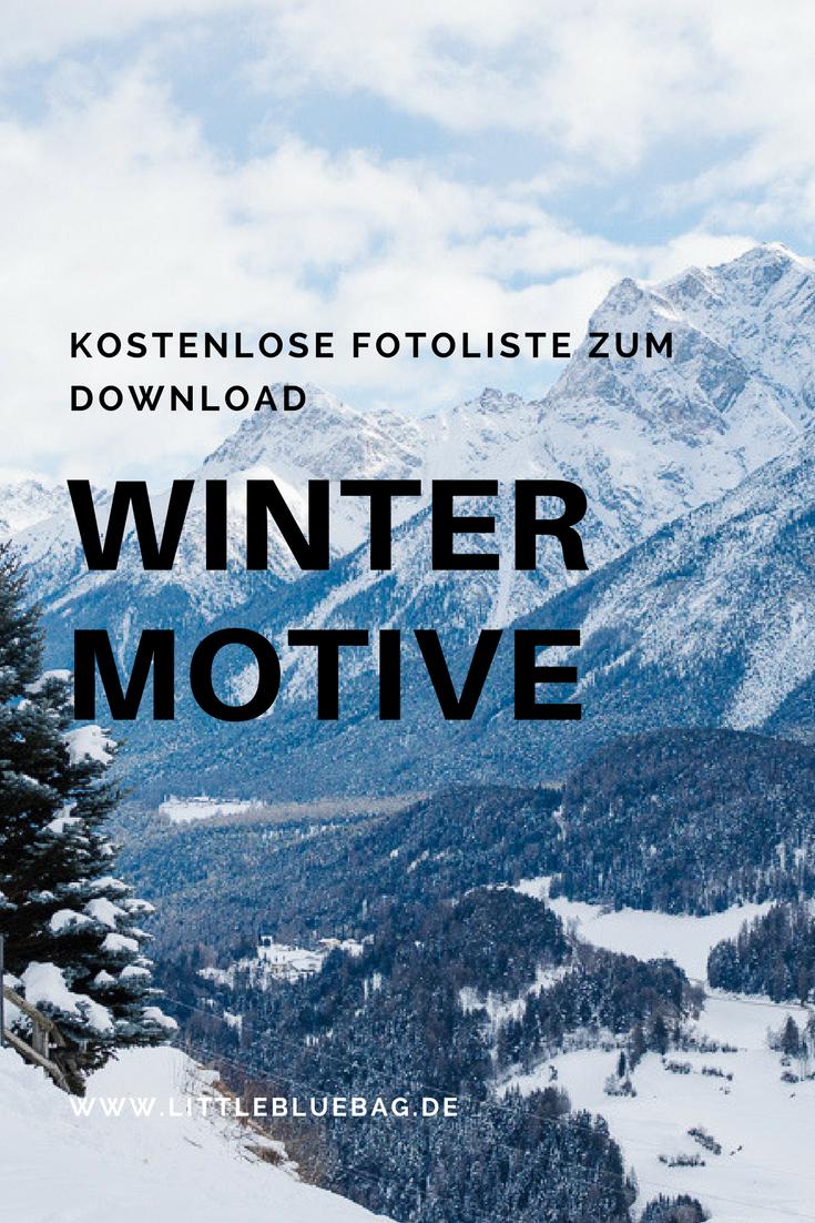 Kostenlose Winter Foto Checkliste zum Download!