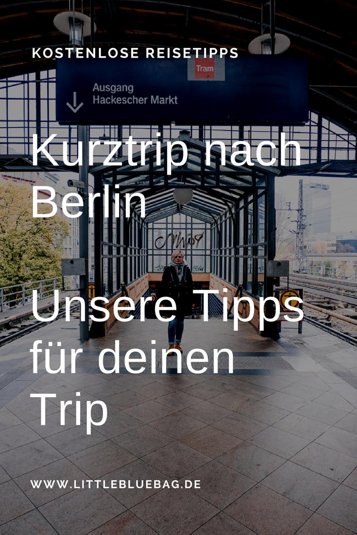 Kurztrip nach Berlin - Pinterest