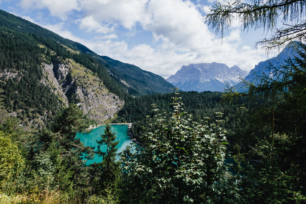 Berge Italien Blindsee