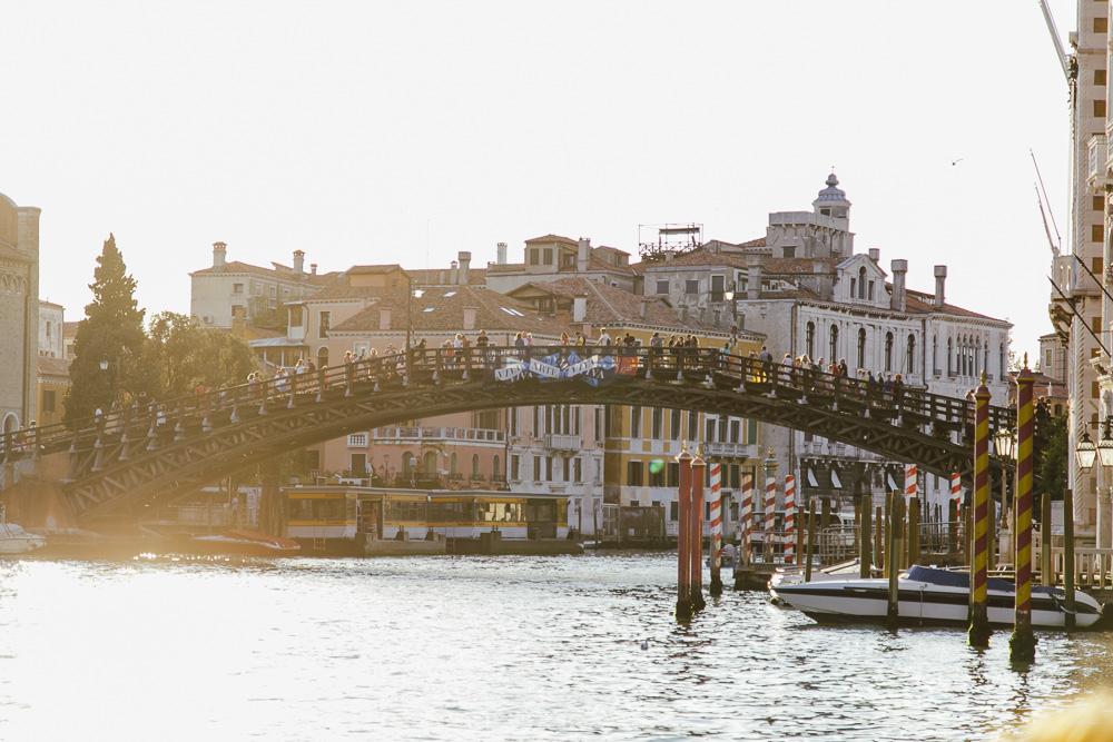 Venedig Italien Sightseeing Brücken