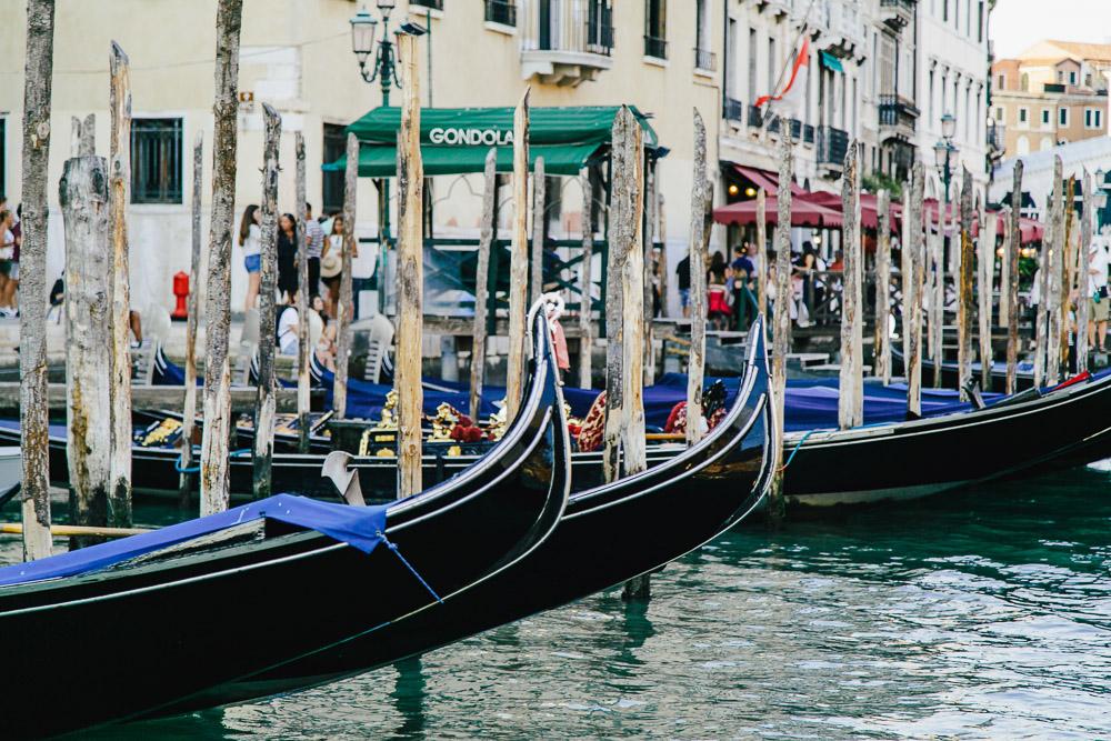 Venedig Italien Sightseeing Gondoliere