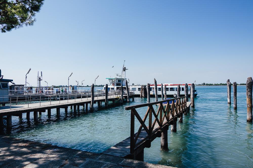 Fähre Punta Sabbioni nach Venedig Linie 1