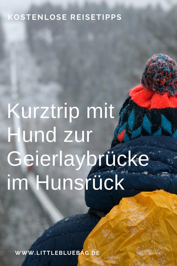 Ein Kurztrip mit Hund zur Geierlaybrücke im Hunsrück ist im Winter sicherlich genauso schön, wie im Sommer. Und im Winter muss man sich die Brücke nicht mit hunderten von anderen Menschen teilen. Unsere Erlebnisse und Tipps zur Übernachtung mit Hund gibt es für dich in unserem Artikel. Stay marvelous, Katrin and Sandra.