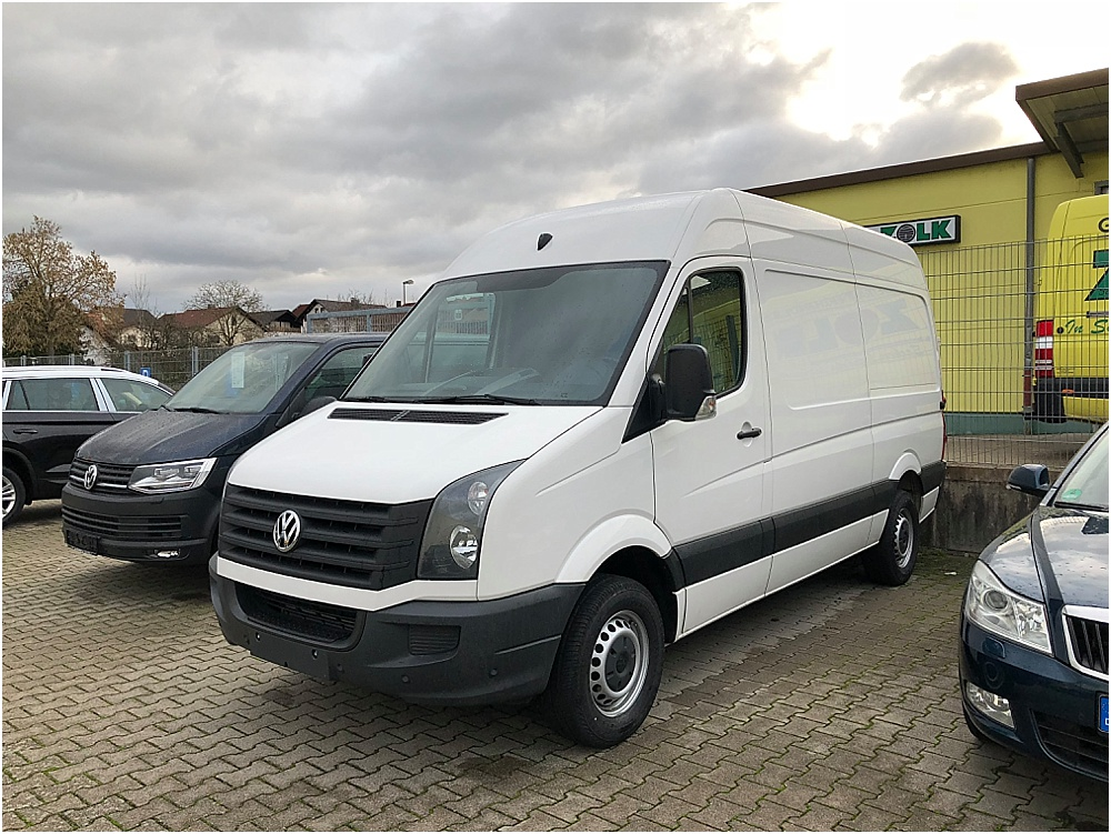 VW Crafter Vanlife