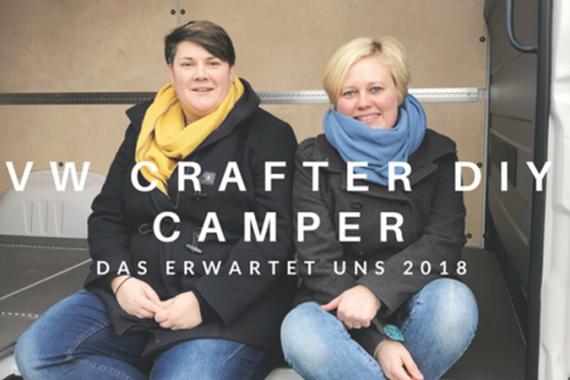 VW Crafter DIY Camper Ausbau