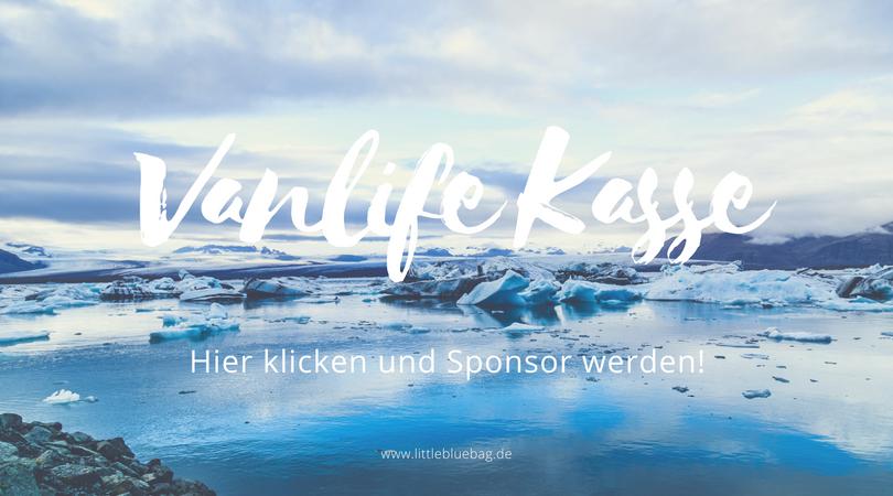 Vanlife Kasse Littlebluebag Camper Ausbau Sponsor werden