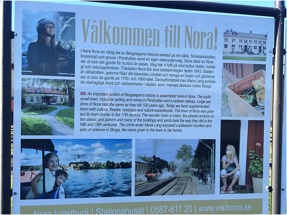 Nora Kurztrip Schweden