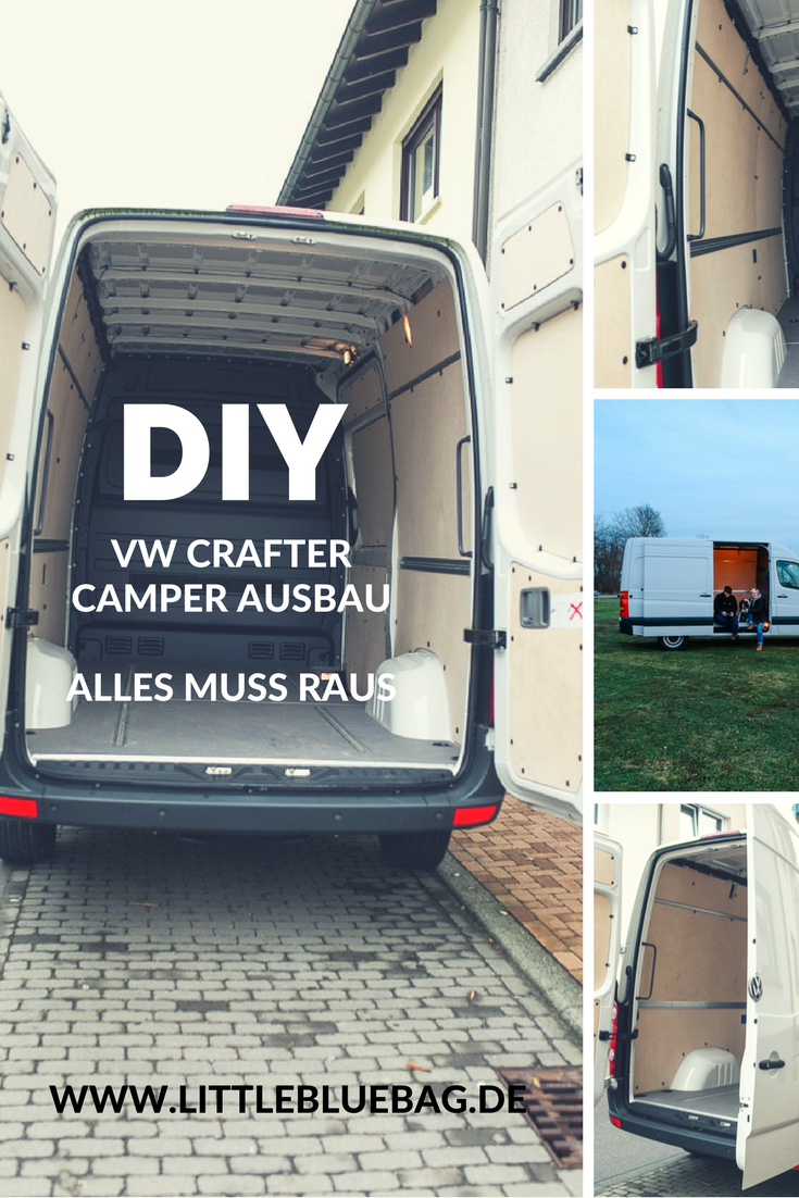 DIY VW Crafter Van Campervan Ausbau Conversion