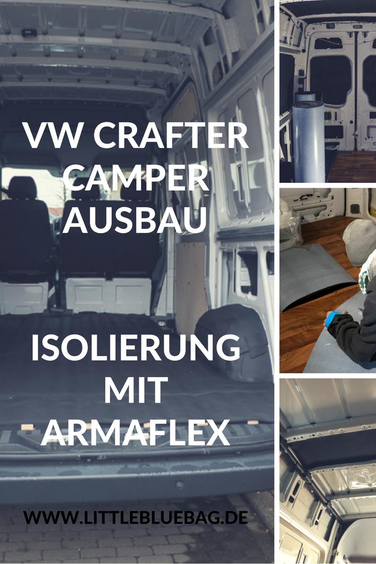 Selbstausbau zum Wohnmobil - Wir zeigen euch wie wir unseren VW Crafter umbauen. Dieses Mal geht es um die Isolierung mit Armaflex. Stay marvelous, Katrin and Sandra.
