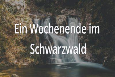 Ein Vanlife Wochenende im Schwarzwald