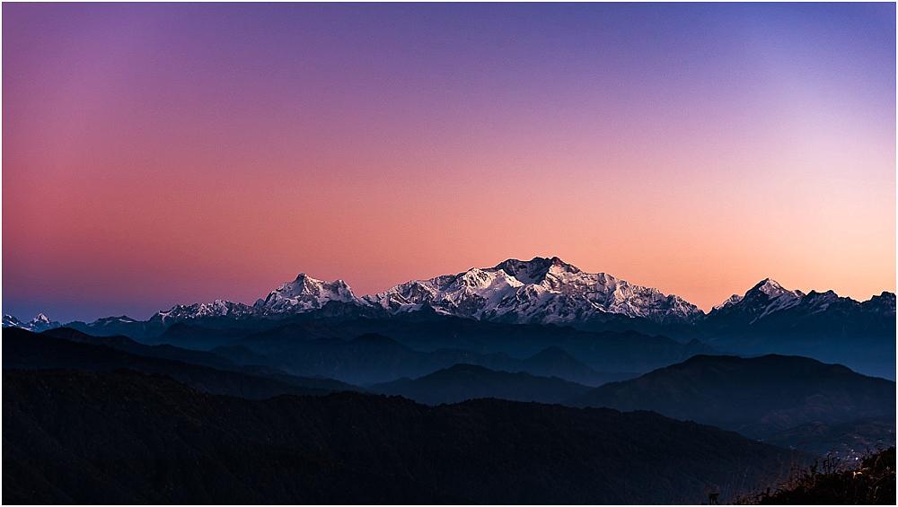 Sonnenaufgang Himalaya
