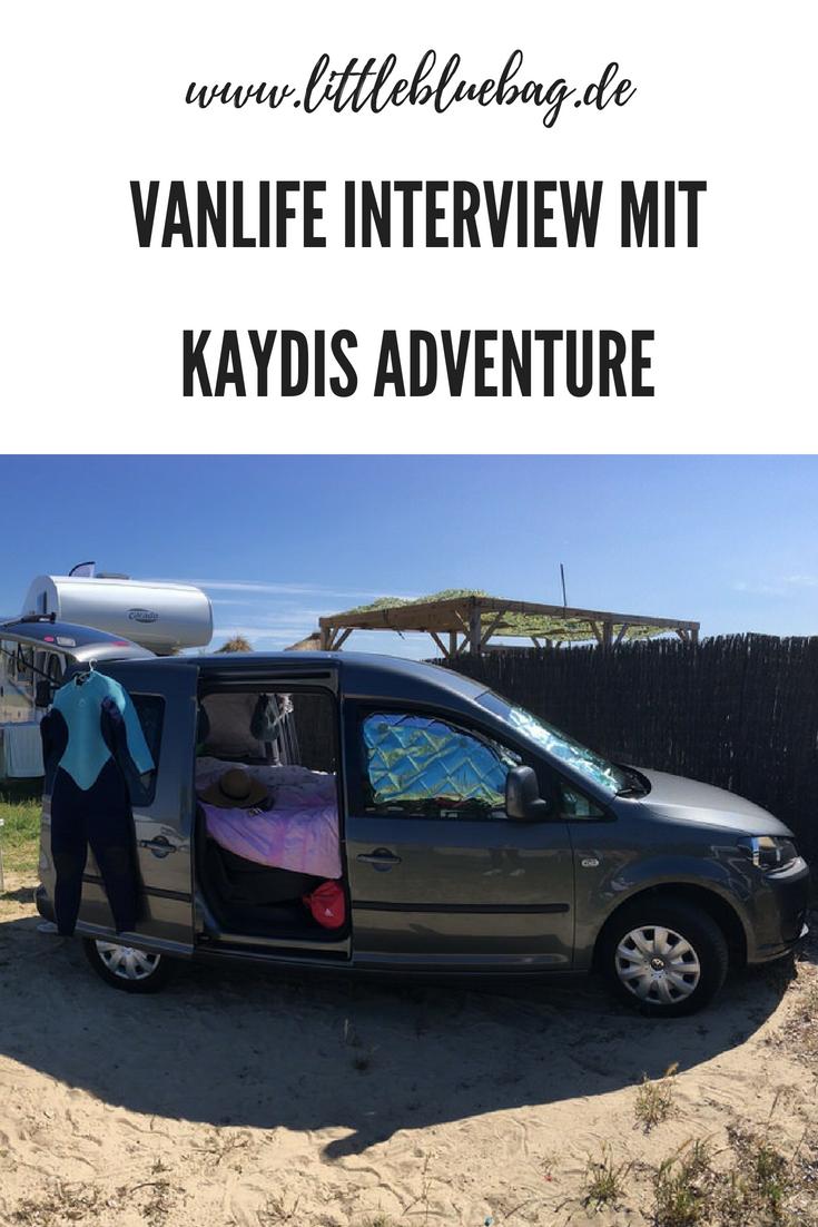 Vanlife Interview mit Kaydis Adventure