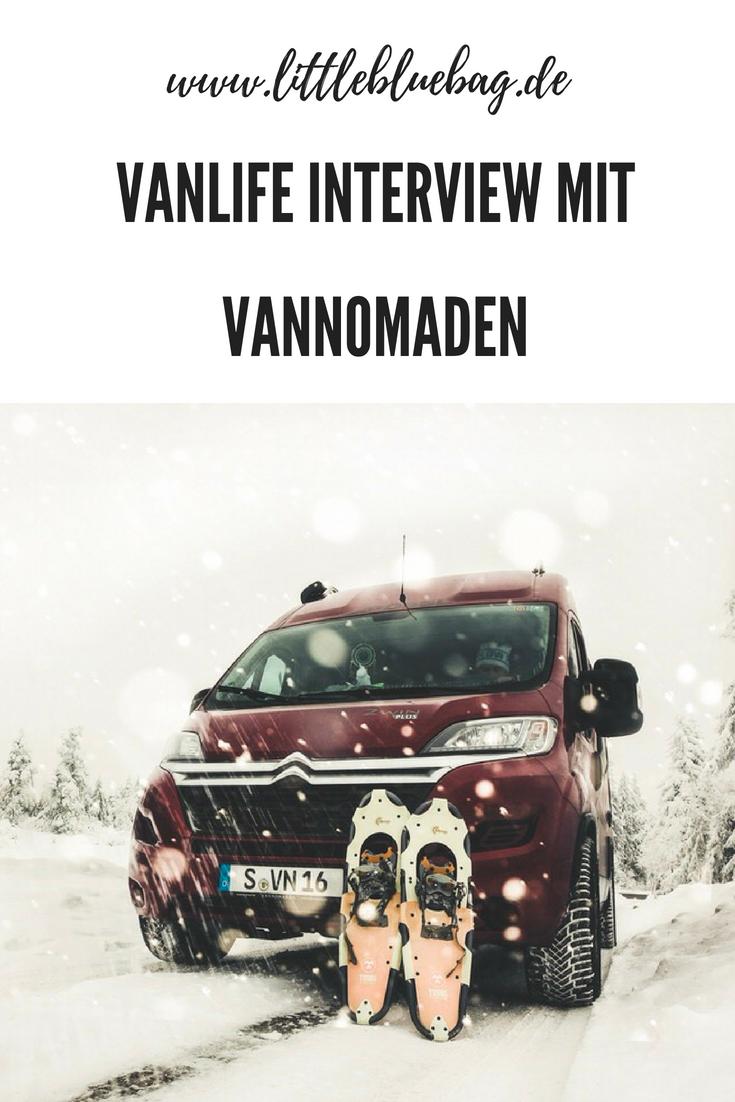 Vanlife Interview mit Vannomaden